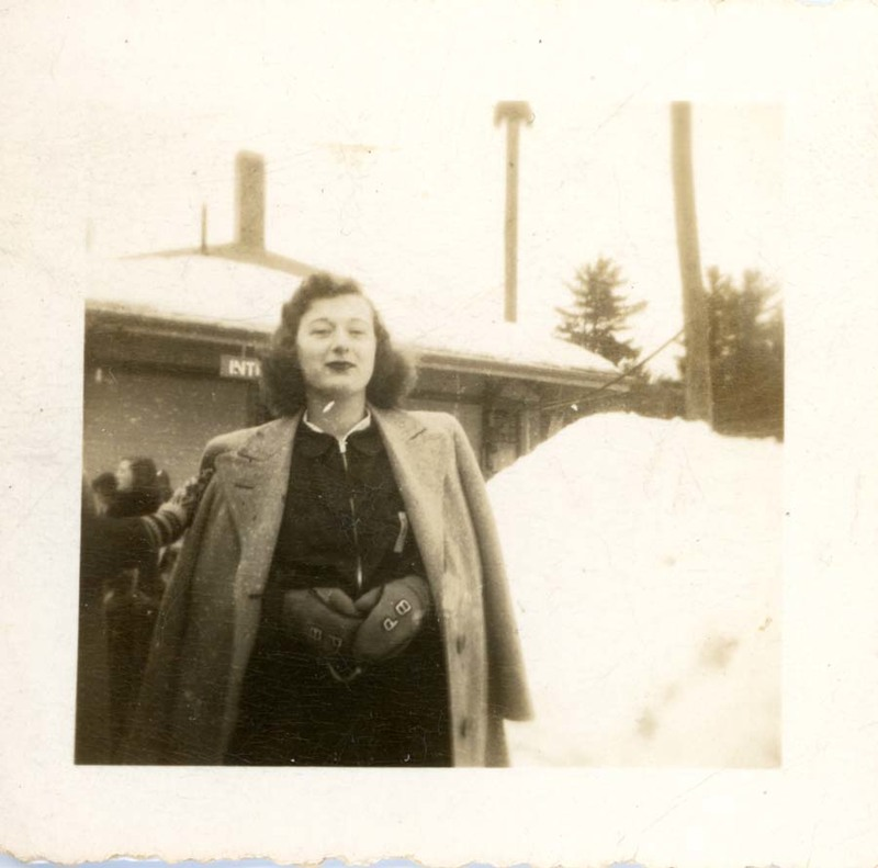 Patricia A. Bowne, Intervale class trip, Abbot Academy, Class of 1946