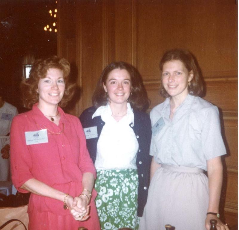 Marcie Rickenbacker, Abbot Academy 150th Celebration, Abbot Academy, Class of 1970