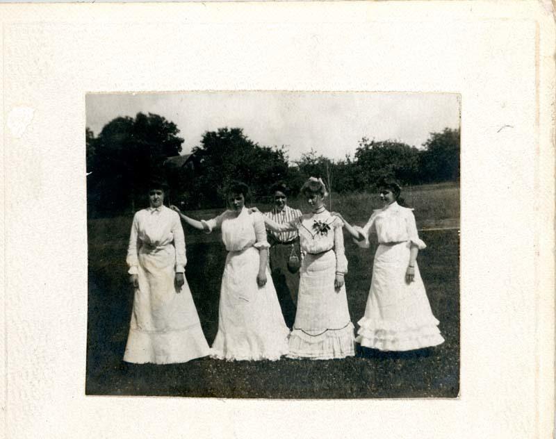 Abbot girls at graduation
