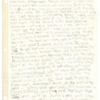 Sherman House Letter, Dori Street, Abbot Academy, class of 1971