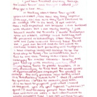 Letter to Don Gordon from former Abbot Academy student Heide Kropp, class of 1972