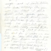 Sherman House Letter, Betsy Coward, Sue Vrie, Abbot Academy, Class of 1973