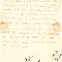 Sherman House Letter, M.A-N.S.-M.W, Abbot Academy