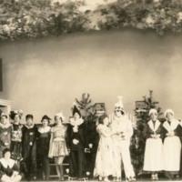 Group shot of 18 actors
