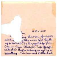 Sherman House Letter, Diane Ralphs, Abbot Academy