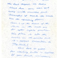 Sherman House Letter, Edie Foster, Robin Bradley, Betsey Worcester, Abbot Academy