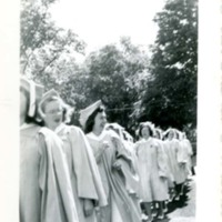Patricia A. Bowne, Graduation day, Abbot Academy, Class of 1946