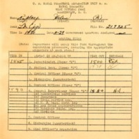 Routing slip, Helen Ripley, Abbot Academy, class of 1930
