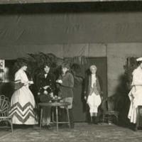 Scene from Senior Class Play 1915