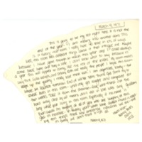Sherman House Letter, Nancy Pinks, Abbot Academy, class of 1972